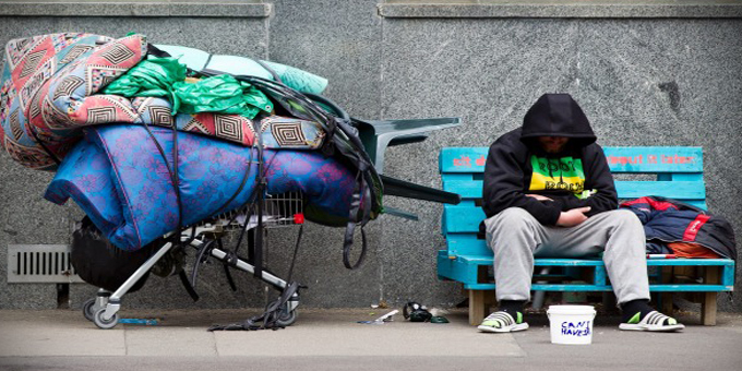 Homeless people in motels and blaming immigration on stoners