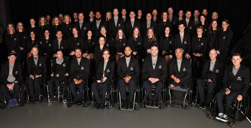 New Zealand Paralympic Team gifted precious Pounamu at SkyCity