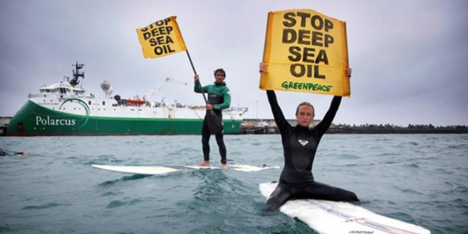 Protests putting heat on oil drillers