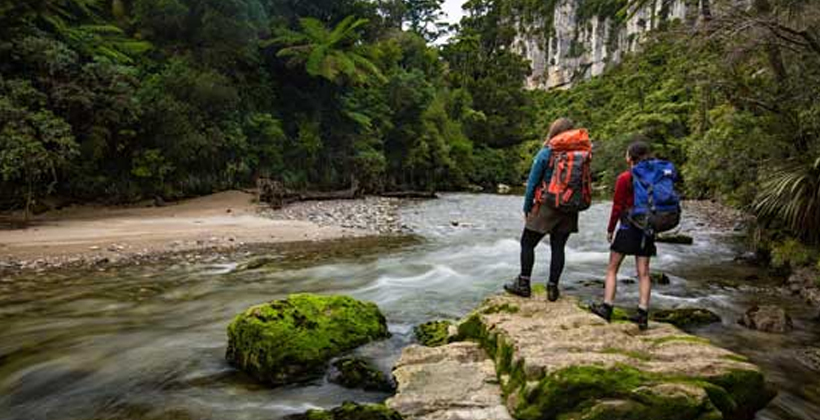 Paparoa Track open for walkers despite slip