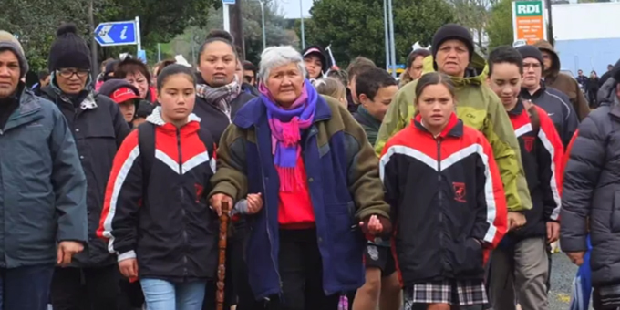 Carl Chenery co-author 10 Reasons why the government should return the Waitara Lands
