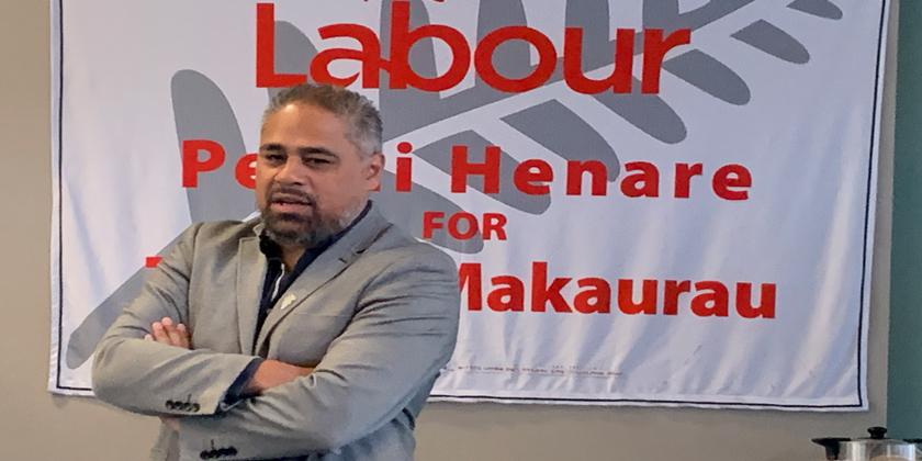Henare keen on third term