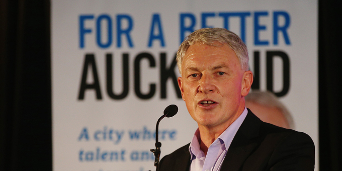 Auckland mayoral candidate Phil Goff on Paakiwaha