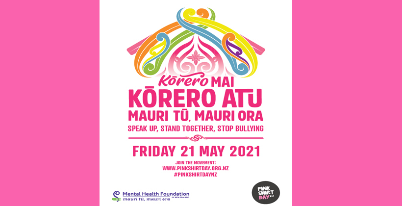 Pink Shirt Day is here. Speak up and stand together to stop bullying.