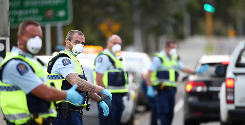 Role found for iwi in police checkpoints
