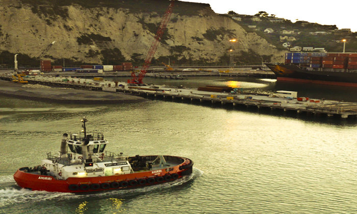 Lead by example gets port workers jabbed