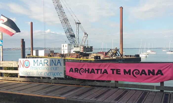 Waiheke marina construction pushing ahead despite appeal