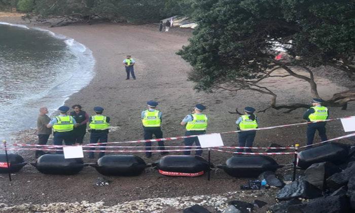 Police move in on Putiki Bay penguin protectors