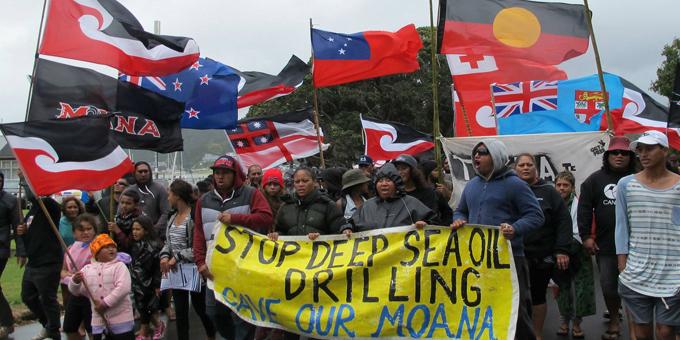 Standing Rock battle draws in Maori