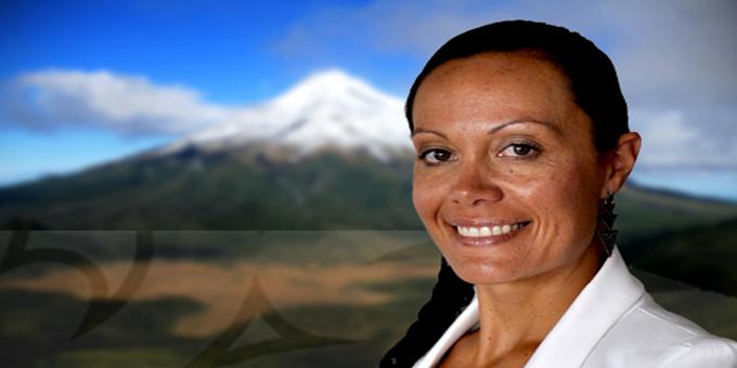Chair of the Parihaka Papakainga Trust, Puna Wano - Bryant