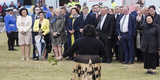 Ratana welcome outshines Waitangi