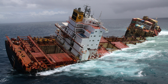 Insurer wants to leave Rena on reef