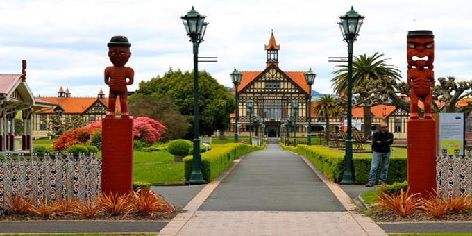 Playground celebrates Maori stories