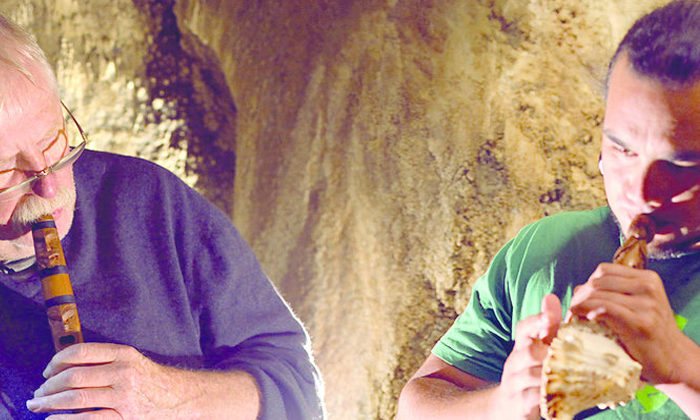 Sharing knowlege opened doors  to learn taonga pūoro