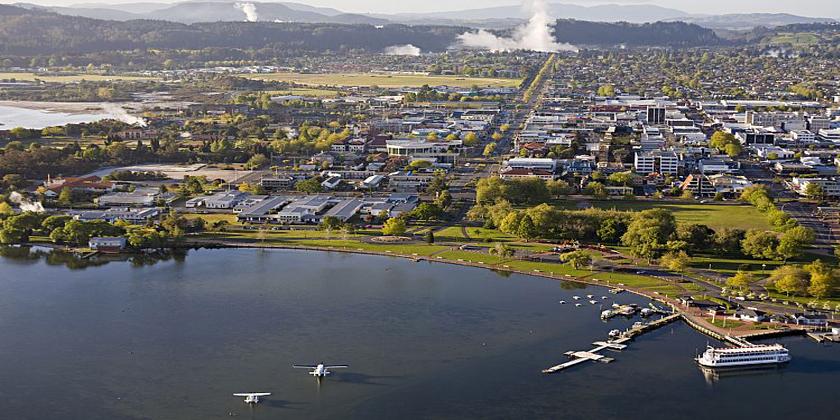 Rotorua lakefront to get  PGF upgrade