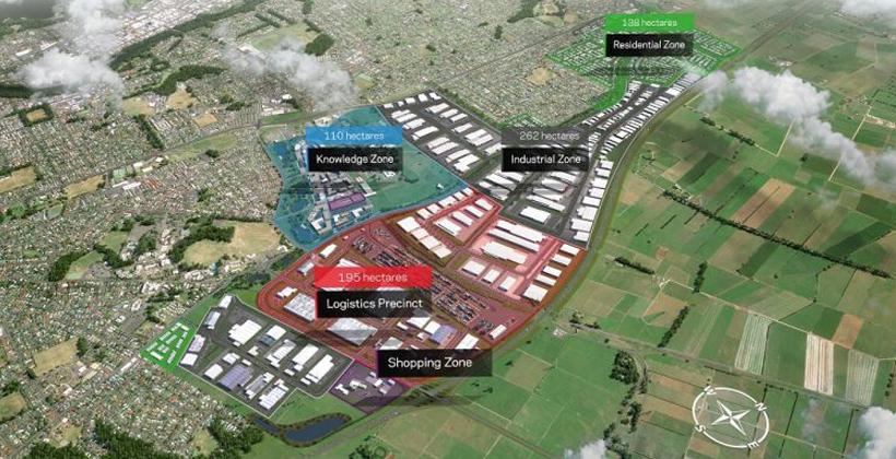 PGF funding boosts Ruakura port development