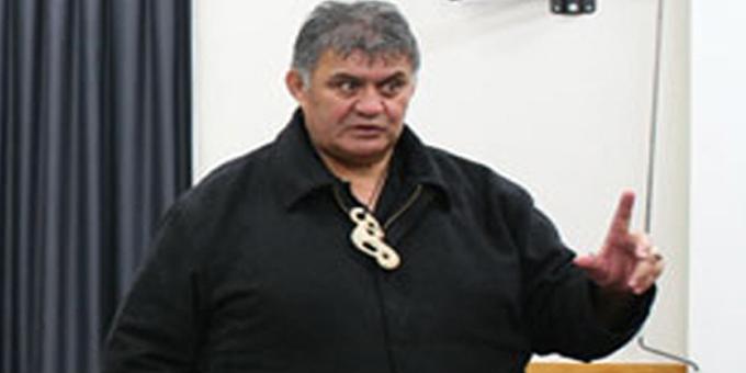 Co chair, Te Kotahitanga o Nga Hapu Ngapuhi Rudy Taylor