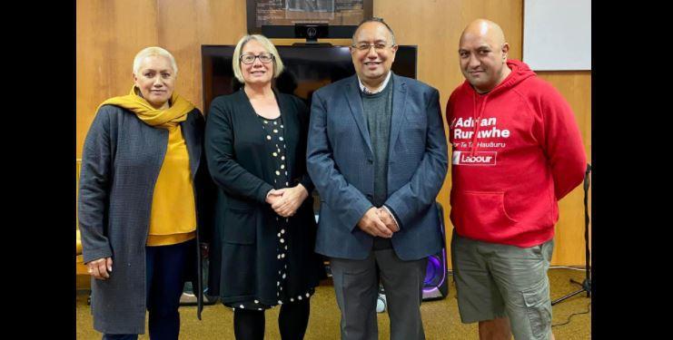 Happy times for new Labour Kaunihera Māori head