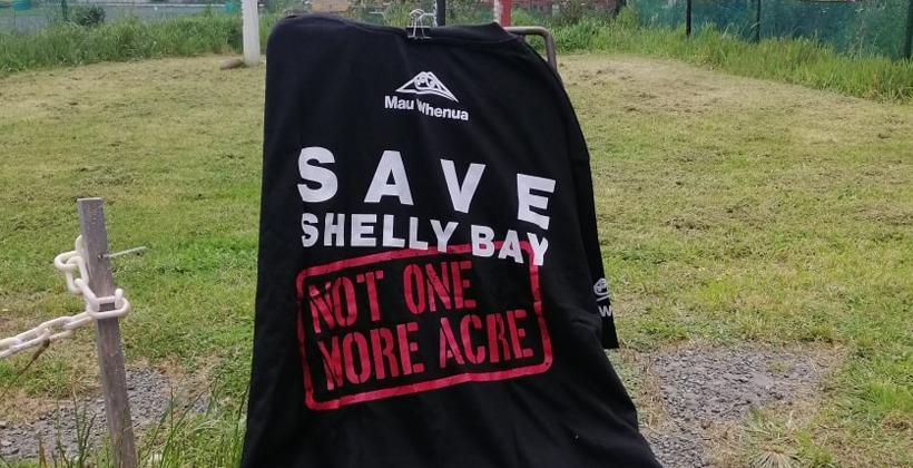 Shelly Bay frozen for High Court challenge