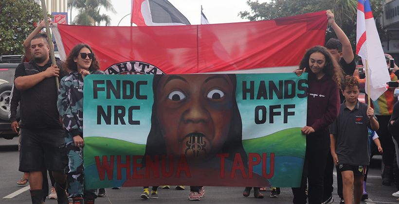 Leave Maori land alone says Maori Party