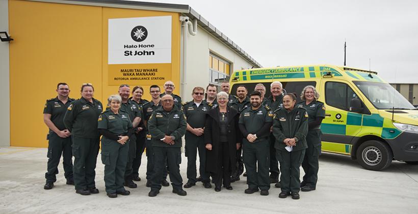 St John unveils new fit for purpose Rotorua Ambulance Station