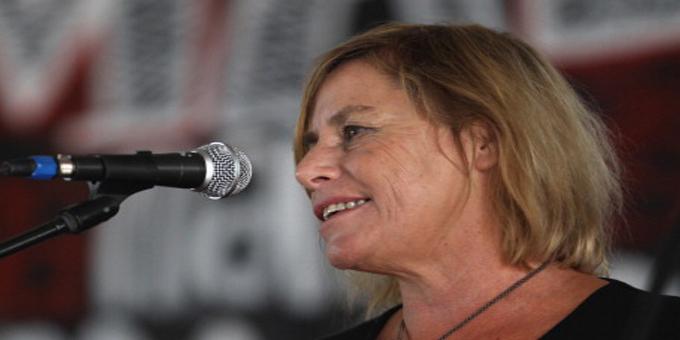TPPA protestor Sue Bradford on Paakiwaha