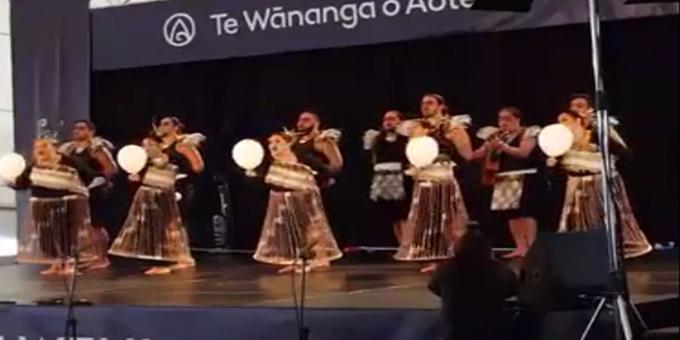 Whangarei Mai Tawhiti hula hoop to top