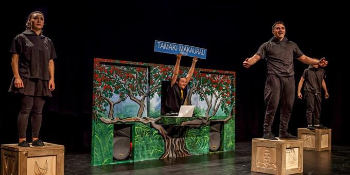 Te reo theatre for marae