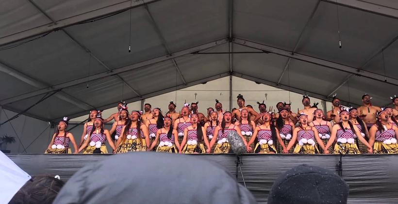 Kapa haka celebration in Manurewa