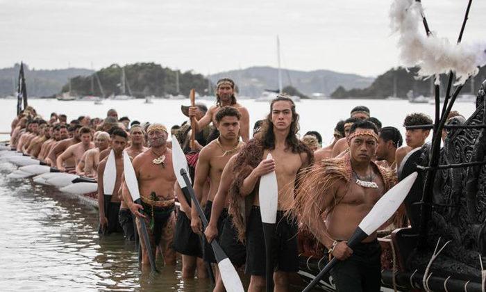 Waitangi waka spectacular captured