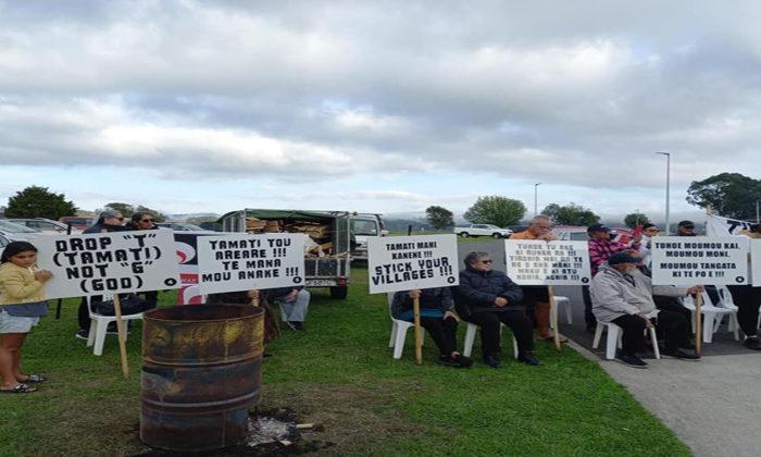 "Hapu protest Tuhoe ""dictatorship"""