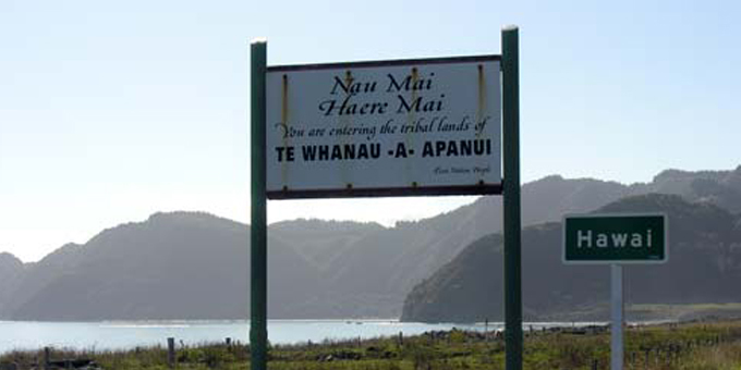 Te tono tiriti ā Te Whānau-ā-Apanui