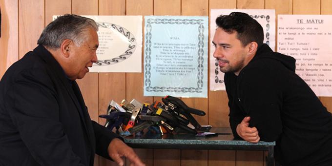 Poi E director, producer and writer Tearepa Kahi on Paakiwaha