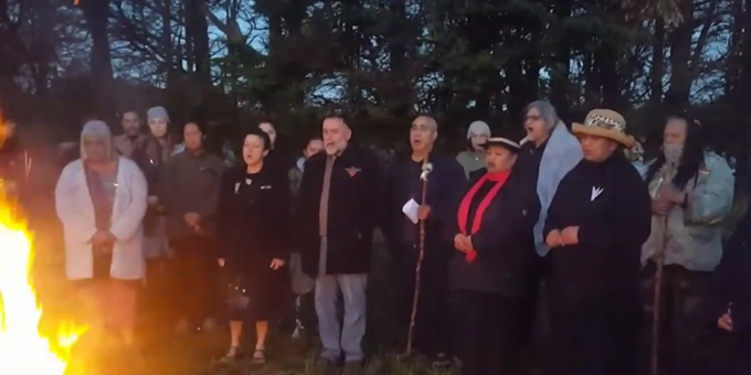 Maniapoto commemorates with Taranaki seige at Te Kohia Pa