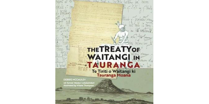 Significant story in Tauranga tiriti signing