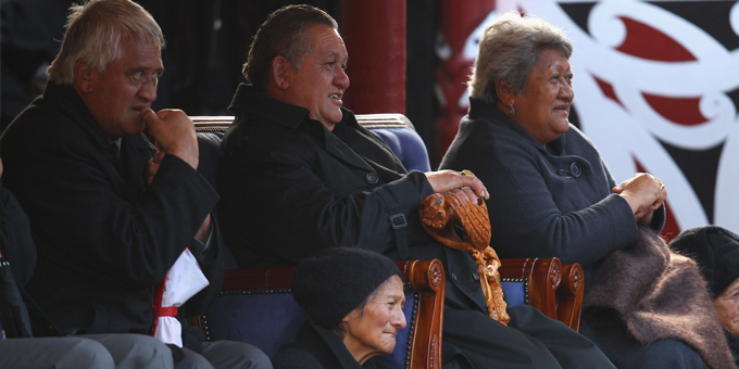 King bestows Order of the Taniwha