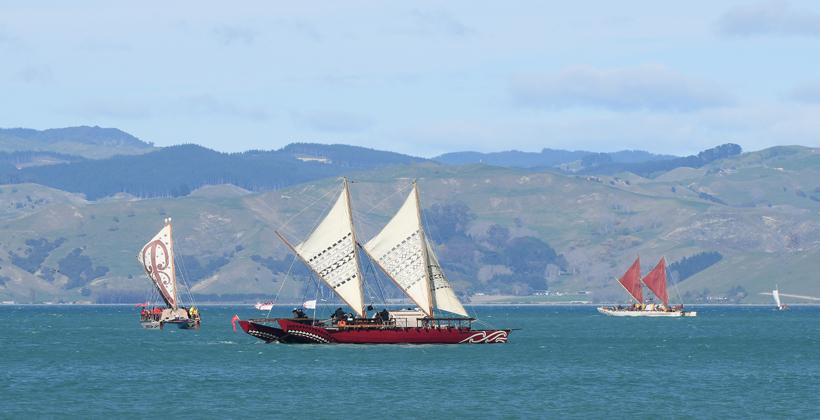 Tuia 250 Flotilla ends voyage at Mahia