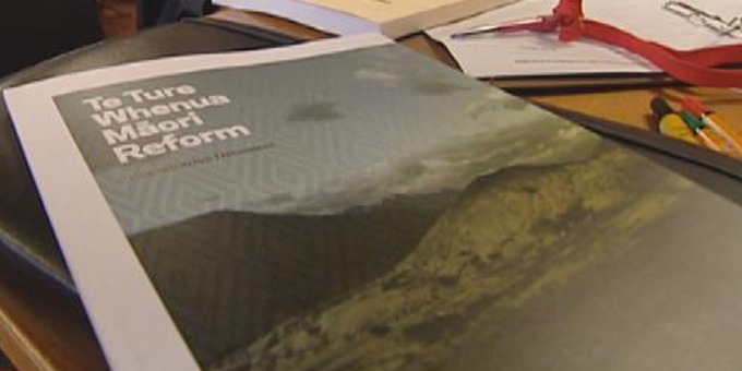 Land law reform what Maori want