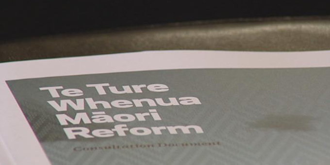 Minister holds off on passing Te Ture Whenua Bill ... for now
