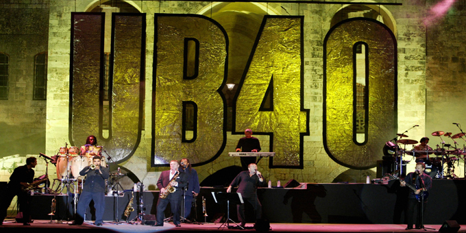 Old friends UB40 for Raggamuffin