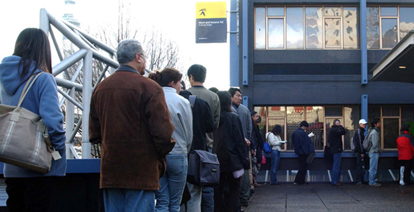 Long term jobseekers pushed down queue