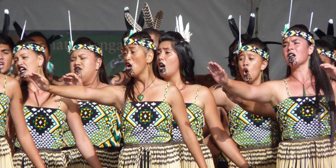 ASB Polyfest Māori stage results 2013