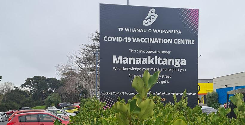 Numbers grow at Waipareira Vax to the Max