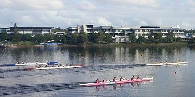 NZ vs Tahiti in waka ama showdown