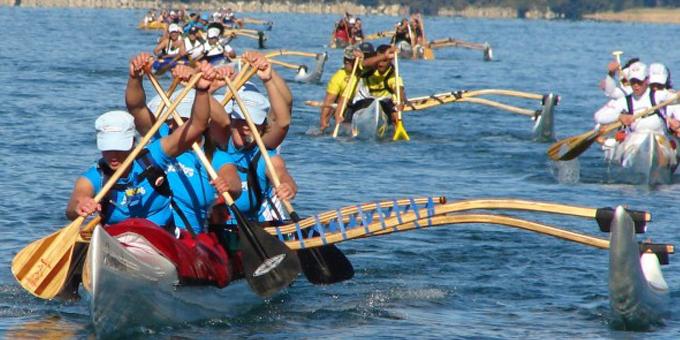 Long haul for waka ama champs