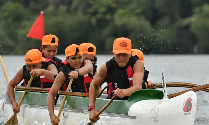 Next generation shows waka ama prowess