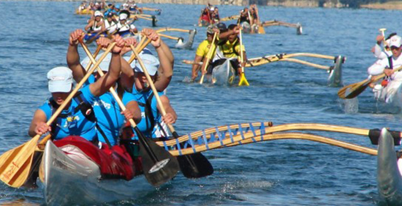 Waka Ama takes up water safety message