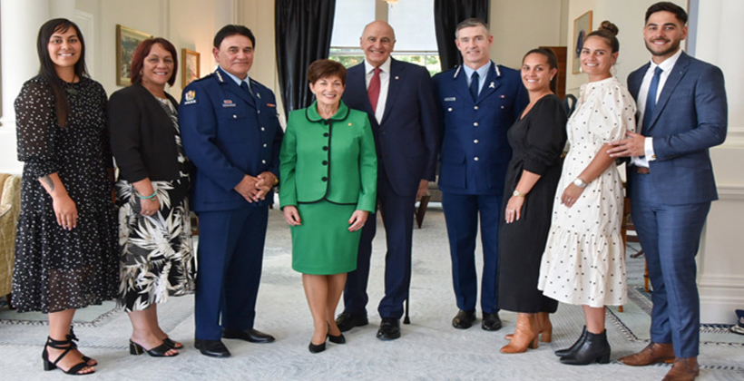 Haumaha's contribution recognised by government head