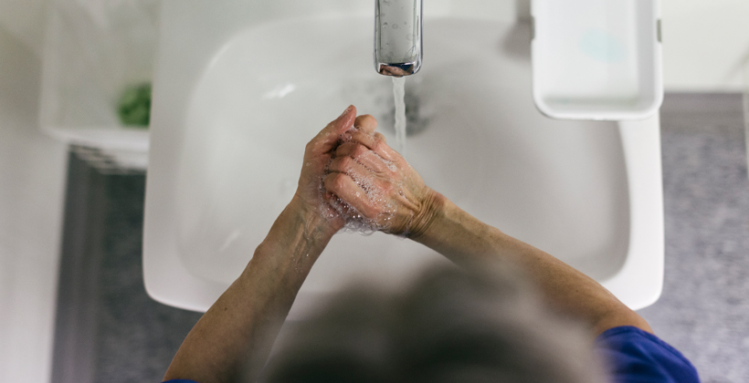 Washing rules keeping health workers safe