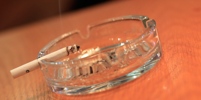 National wero to give up smokes